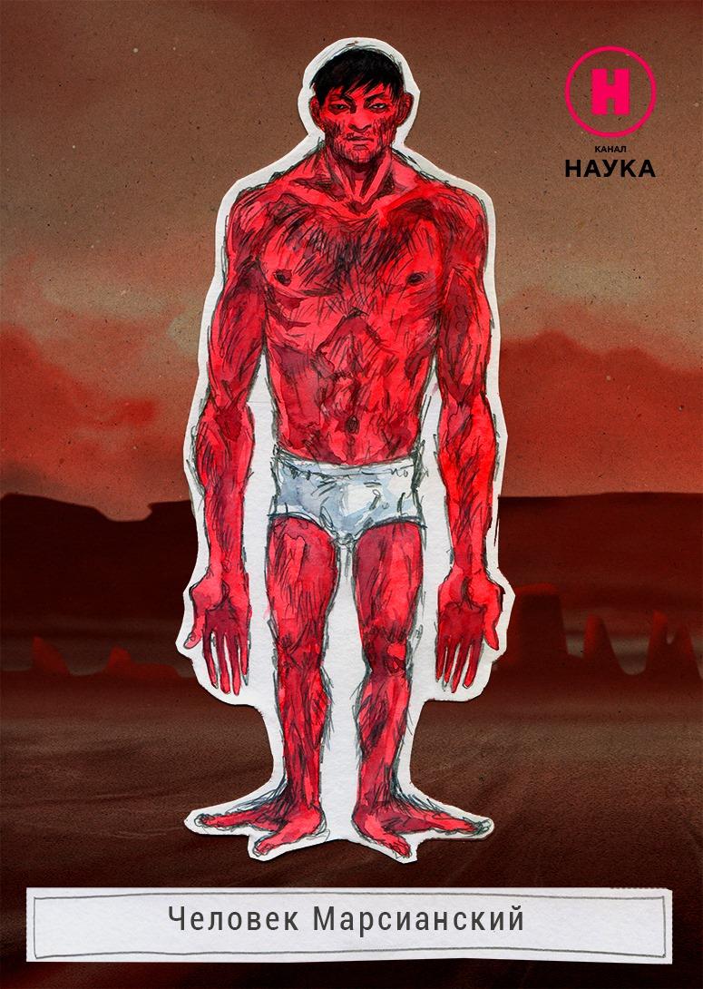 Как будет выглядеть человек, приспособленный для жизни на Марсе - фото 1