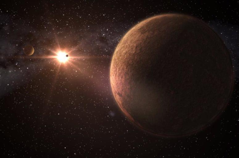 Найдена новая система с тремя землеподобными планетами