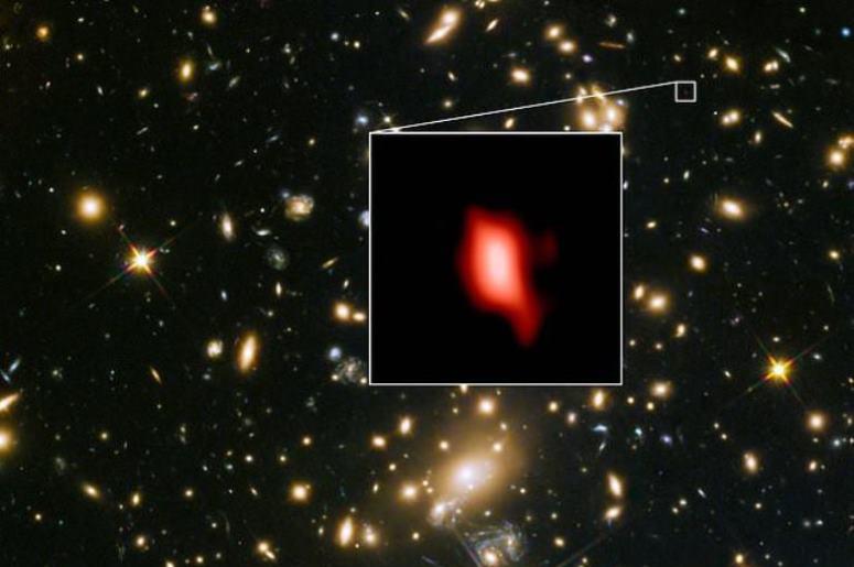 В самой отдаленной галактике обнаружен кислород