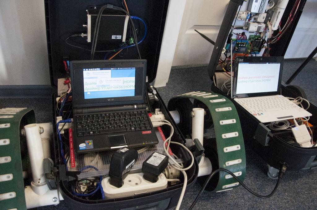Ученые ДВФУ изобрели новую технологию управления робототехникой в космосе