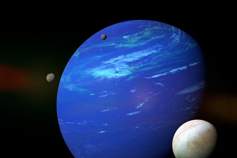 Картинка спутники нептуна
