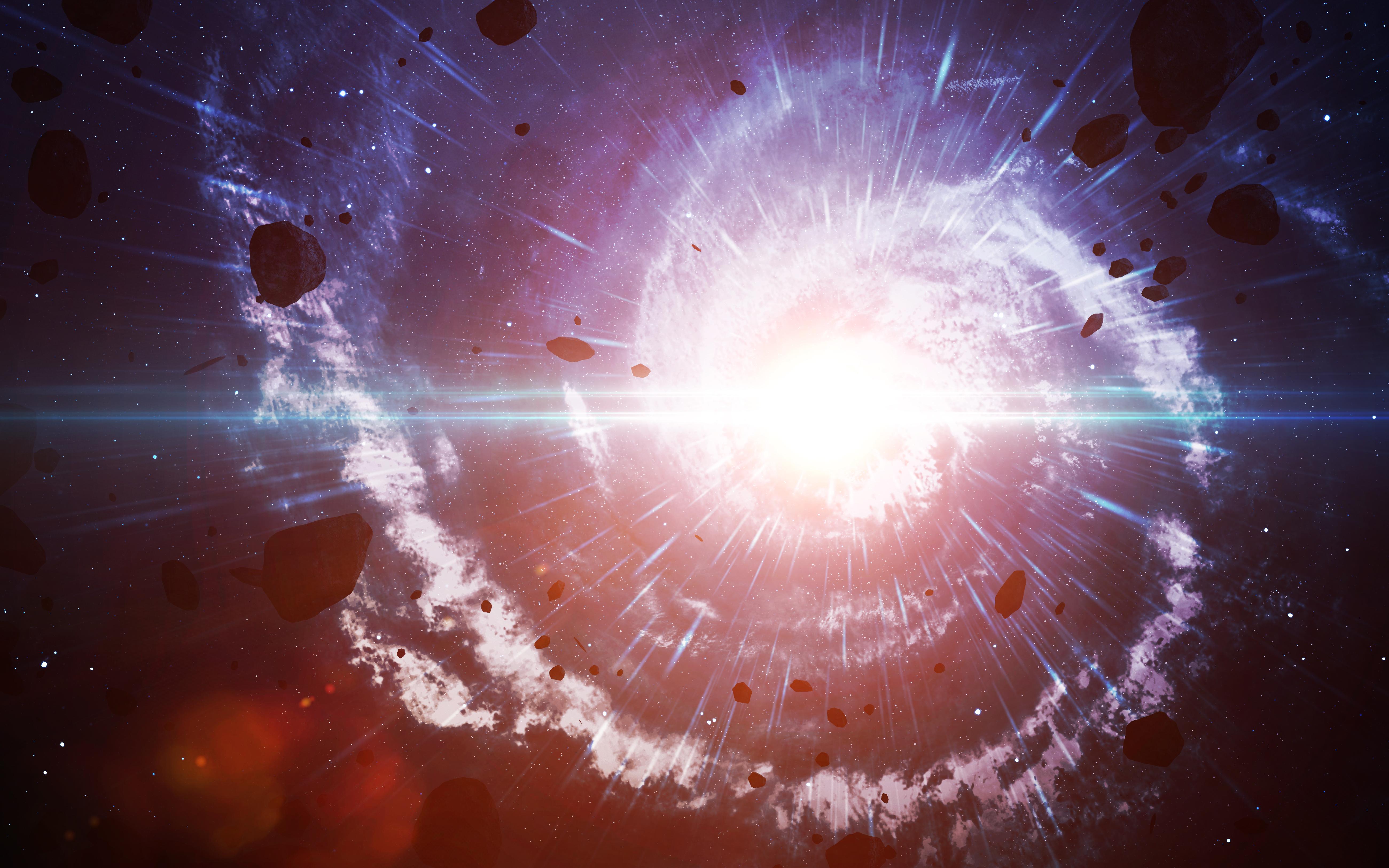 Картинки большой взрыв вселенной